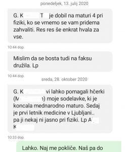 Fizika - 4. letnik -matura - prof_Črček - junij 2020