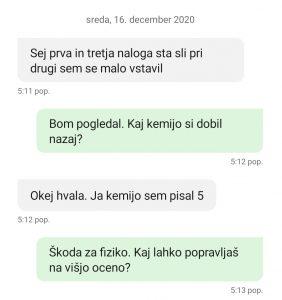 Kemija, prof_Mustač, redni test - december 2020